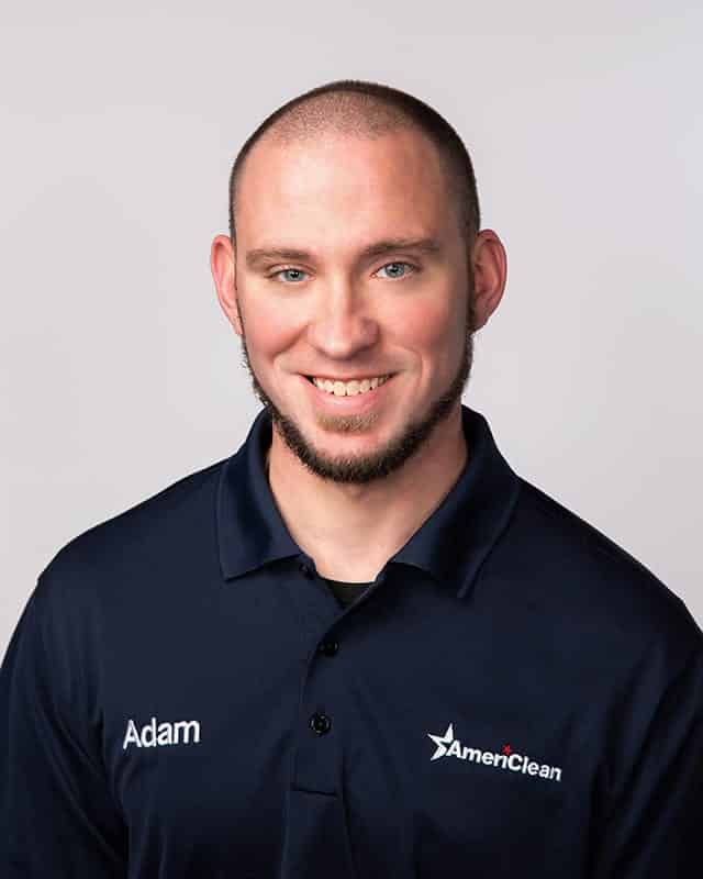 Adam Shifflett; Operations Manager & Certified Cleaning Technician for AmeriClean.