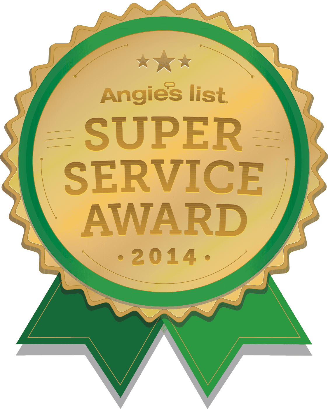 Angie's List Super Service Award for 2014