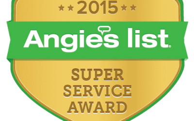 AmeriClean Inc. has earned the service industry's coveted 2015 Angie's List Super Service Award