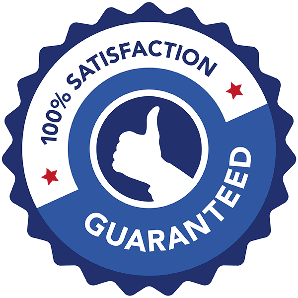 AmeriClean's 100% Satisfaction Guarantee Logo