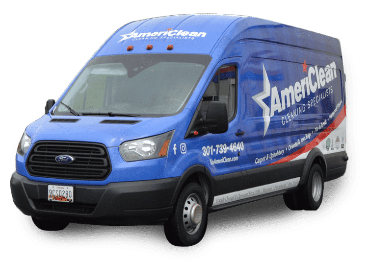 AmeriClean Cleaning Specialists Van