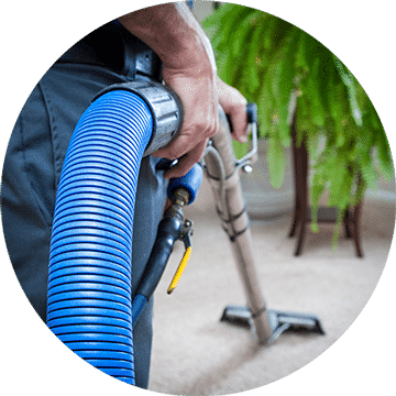 Carpet Cleaning, removing dirt and stains.