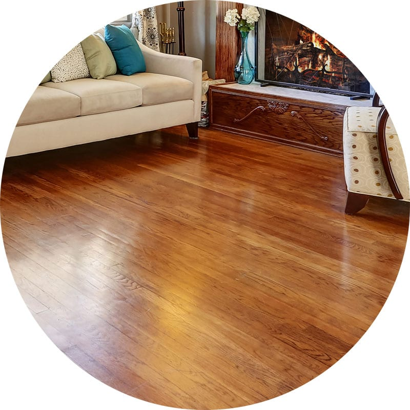 Hardwood floor cleaning services with restore vibrant shine to all types of wood floors.