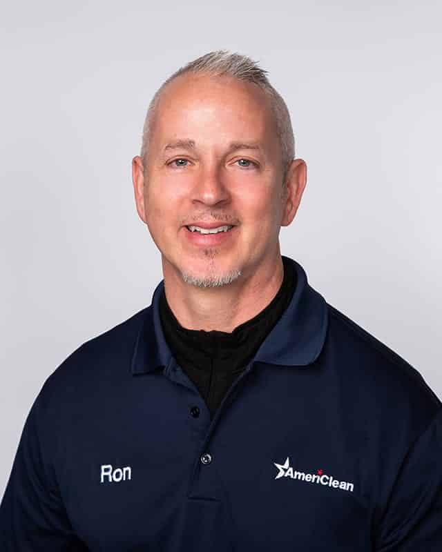 Ron Snyder, Journeyman textile cleaner of AmeriClean.