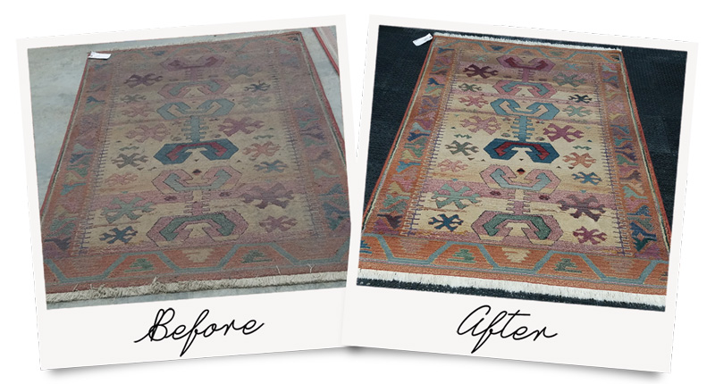 Wool Rugs Come Back to Life